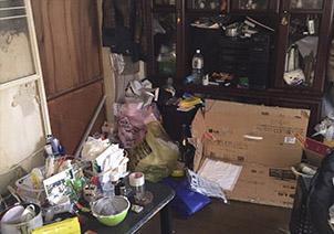 大量の汚物・可燃ごみ・不燃ごみ撤去・回収作業