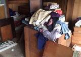 古くなった大物家具・大量の衣類回収
