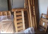 ベッド枠の木材などの回収