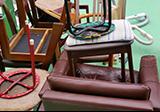 椅子、ソファなどの回収