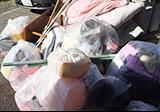 布団や袋ゴミの回収