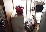 家具数点と家電の回収