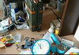 PCやプリンター、小物等の回収