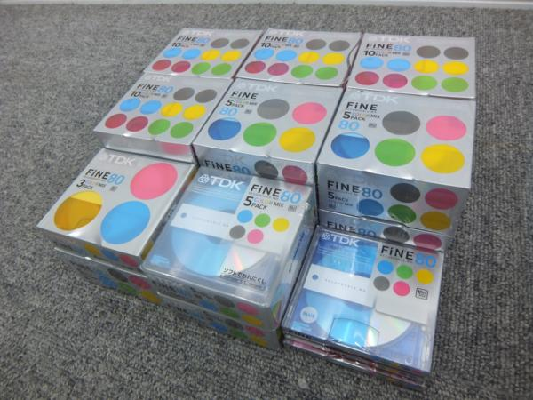 TDK MD ミニディスク FINE80 80本セット