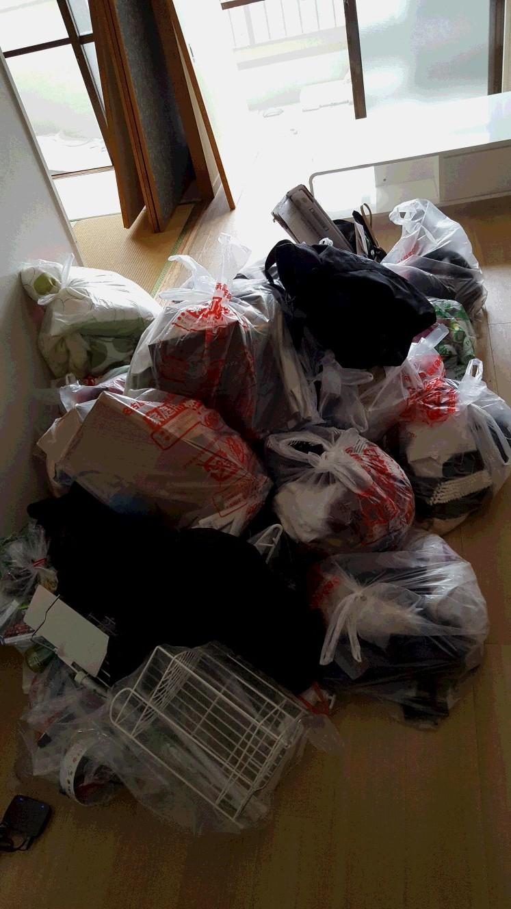 袋ゴミなどの回収