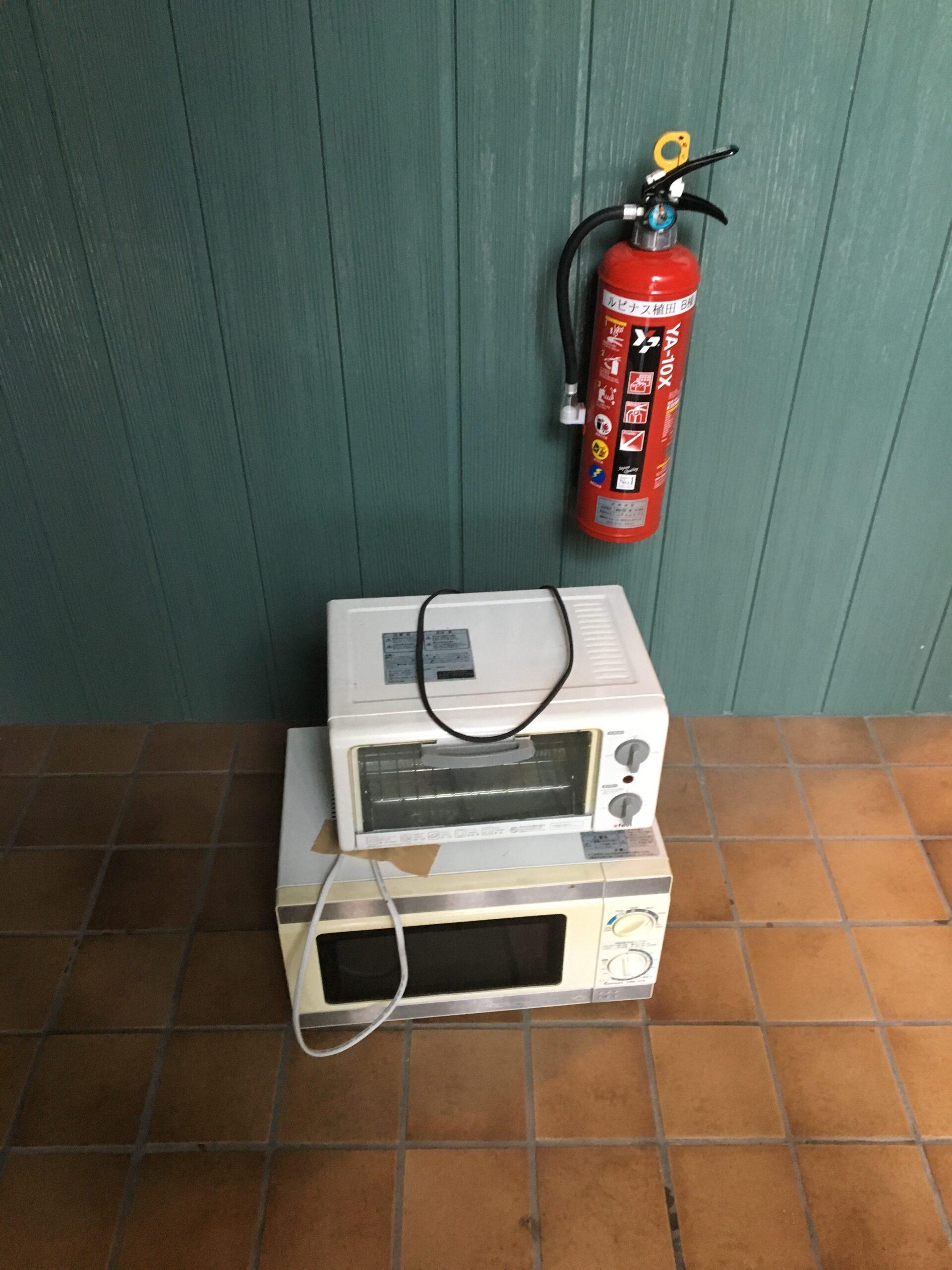 電子レンジ・トースターの回収