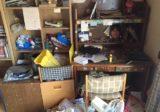 学習机の中身や小物などの回収