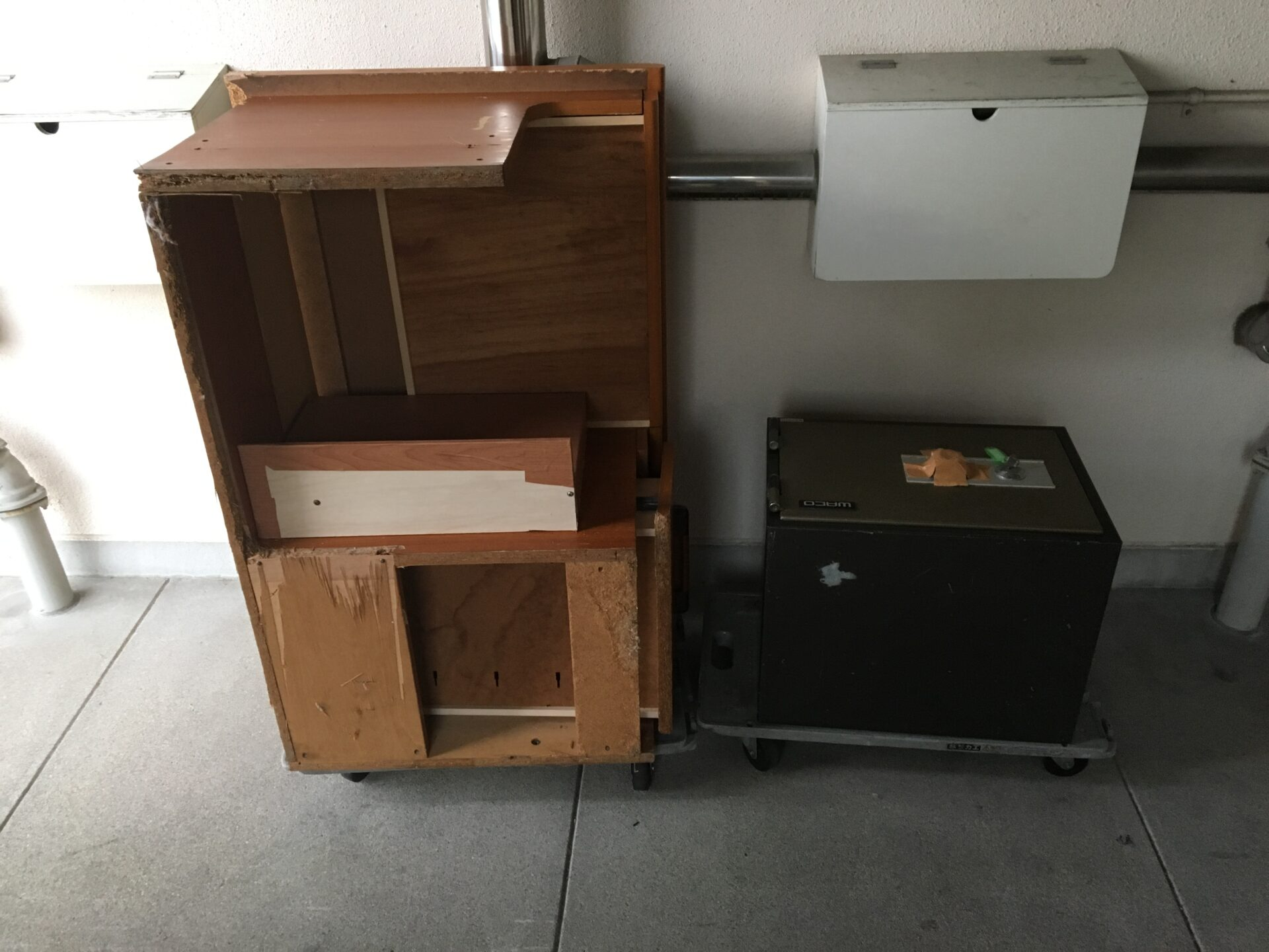 家具類と金庫の処分