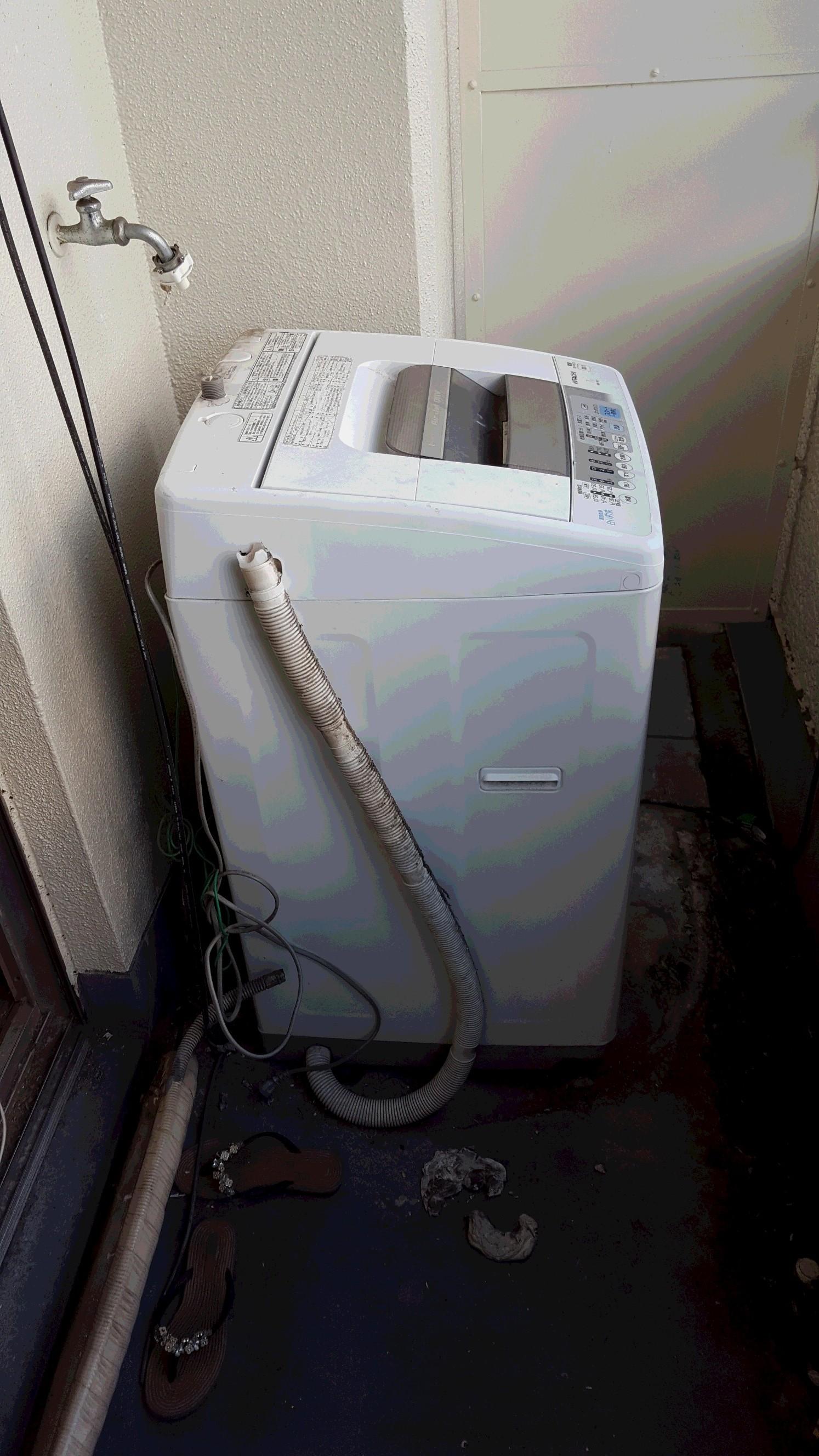 家電リサイクル法の回収作業