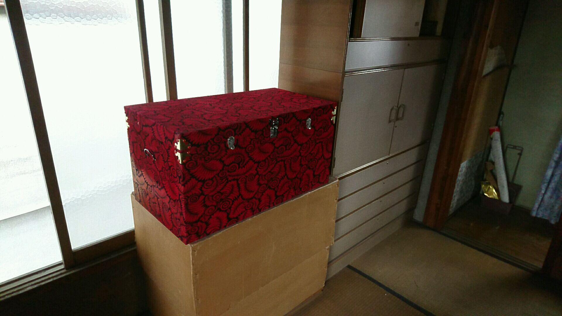大型タンスや木製ボックスの回収