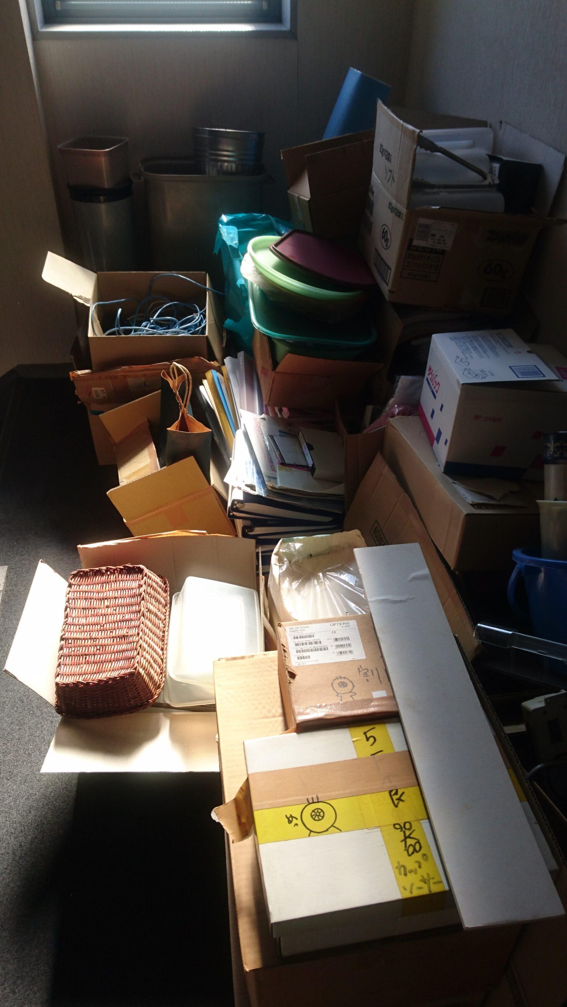 オフィスの廃棄物の出張回収