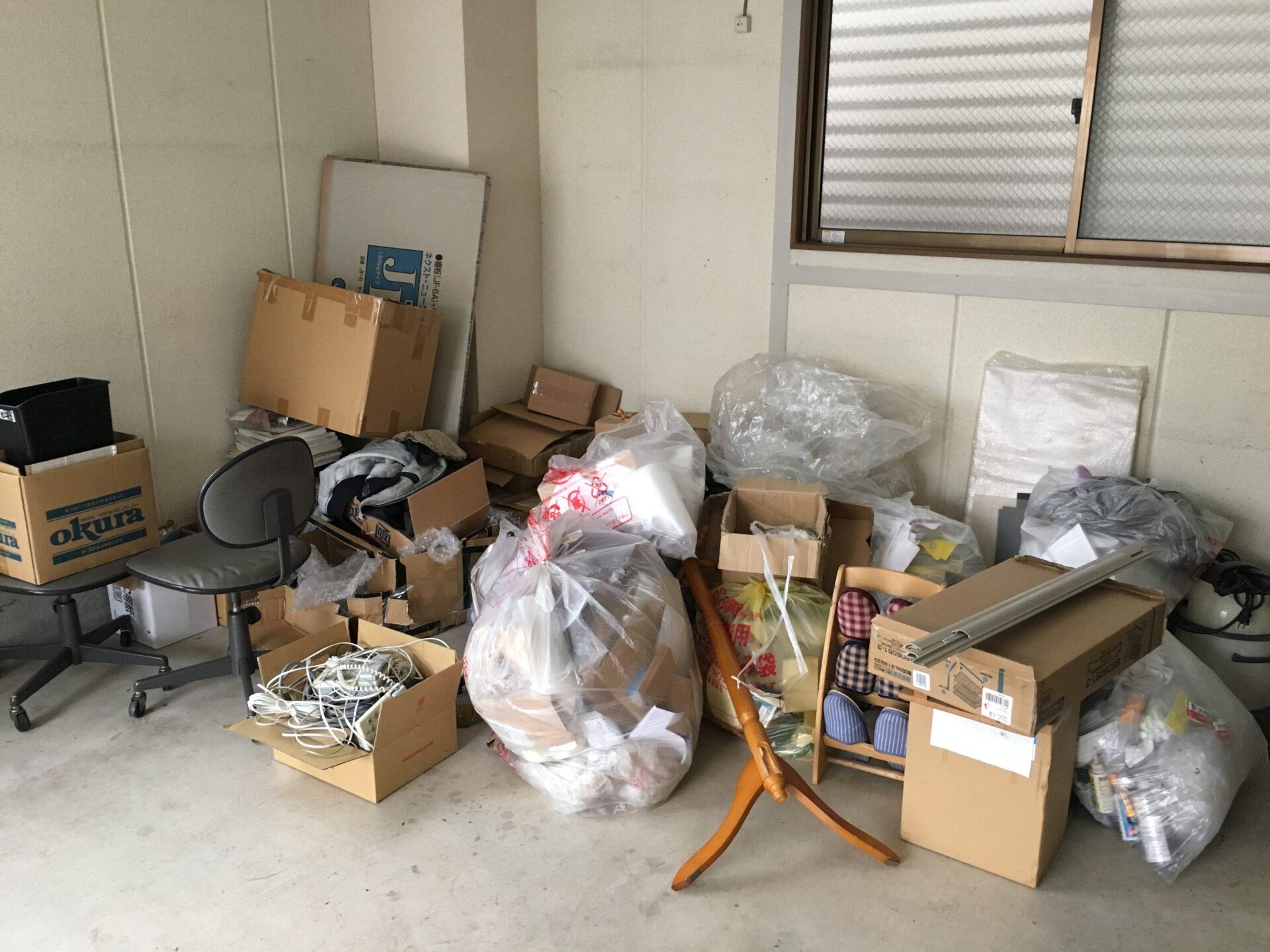 オフィスの廃棄物の回収