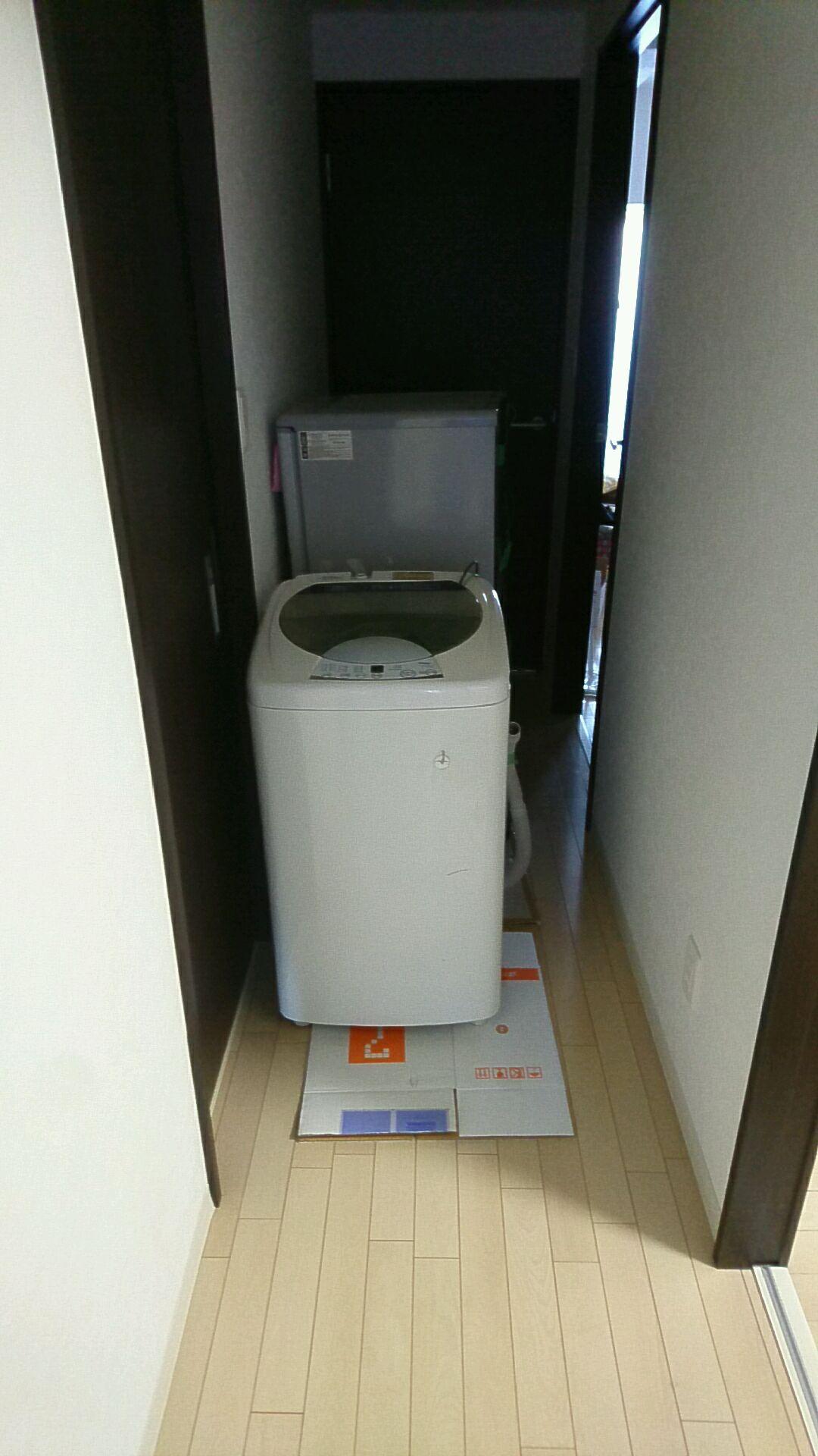 洗濯機と冷蔵庫の出張回収