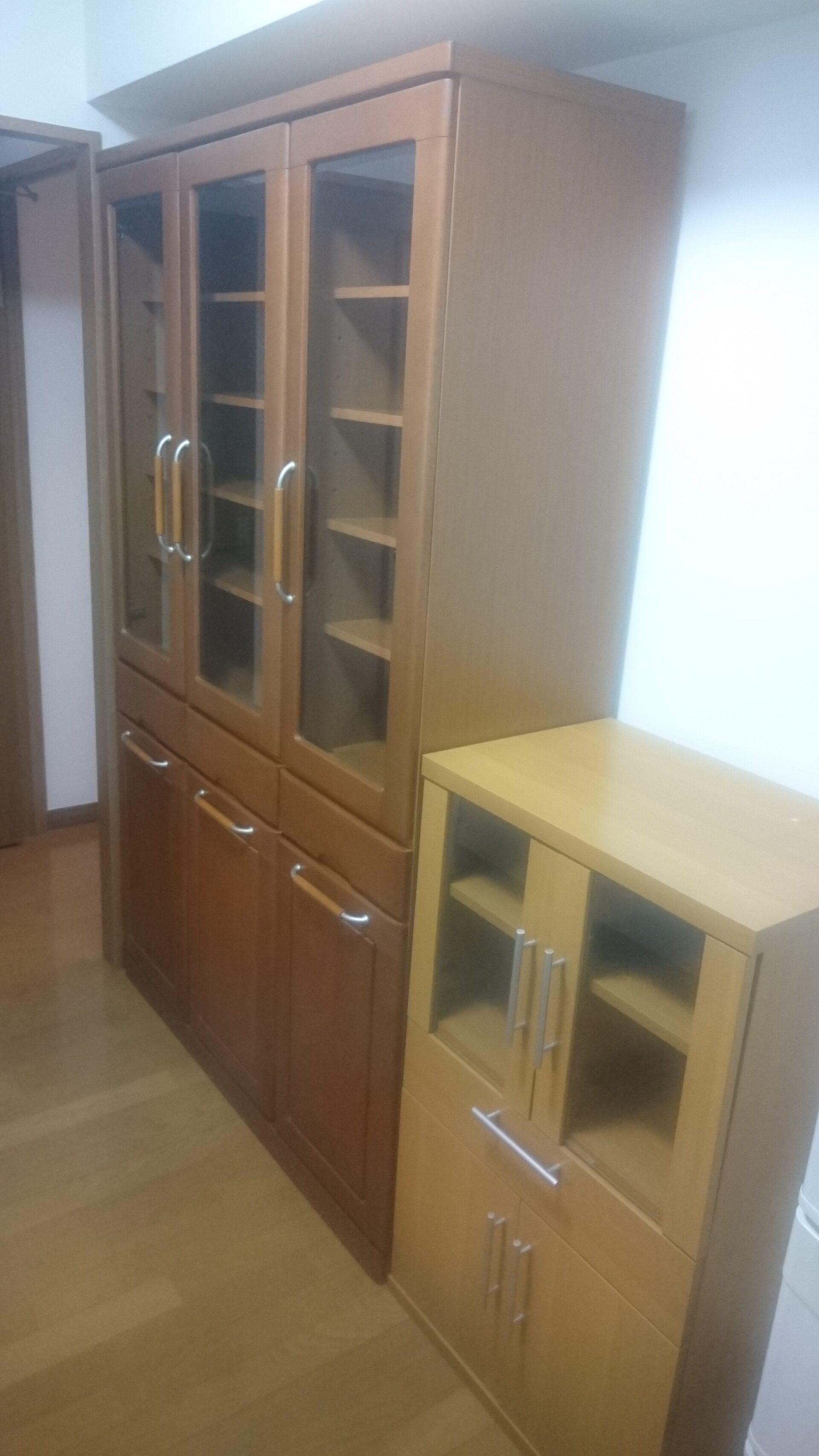 食器棚の出張回収