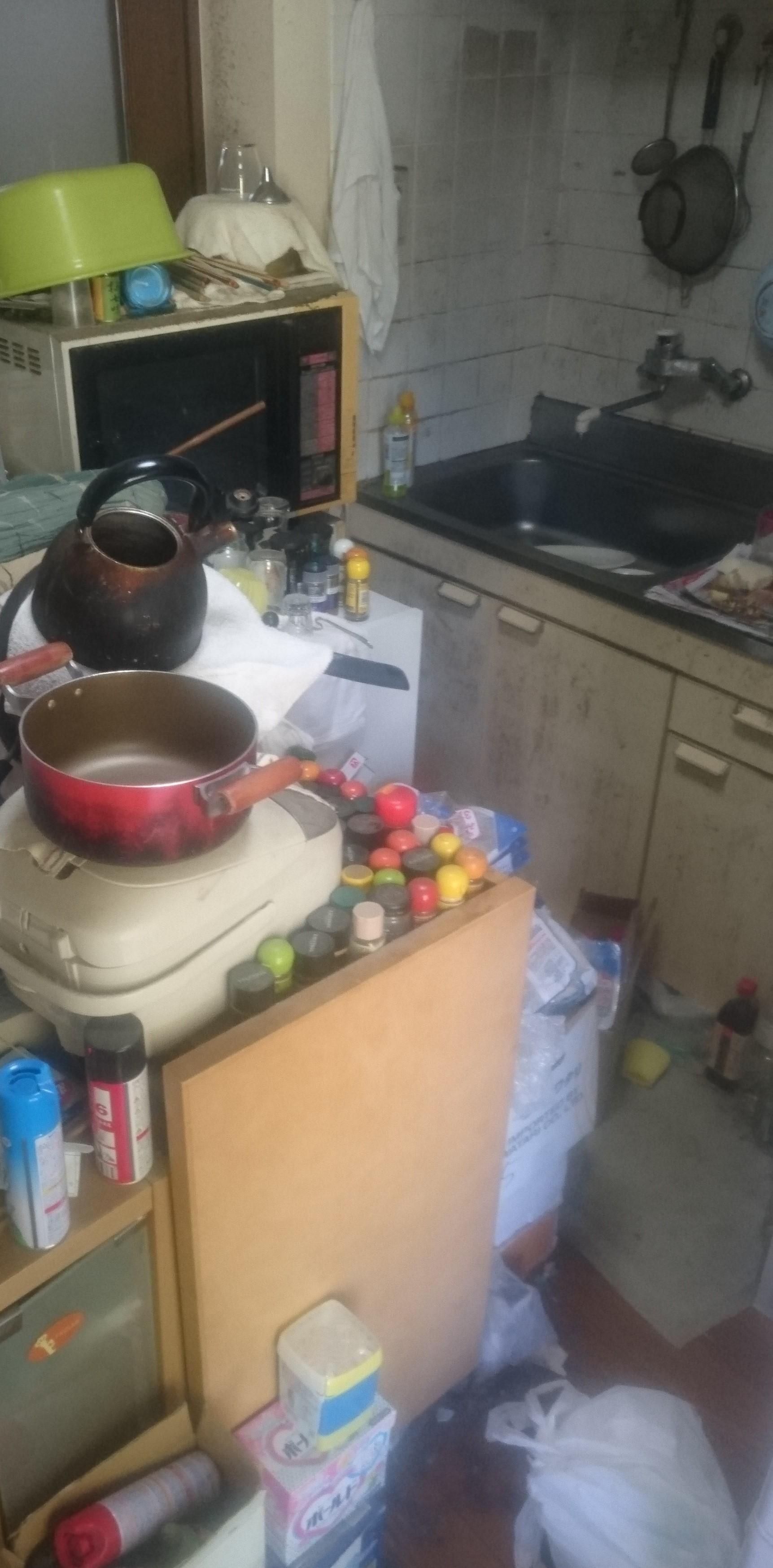 キッチンまわりの家電や調理用品の回収