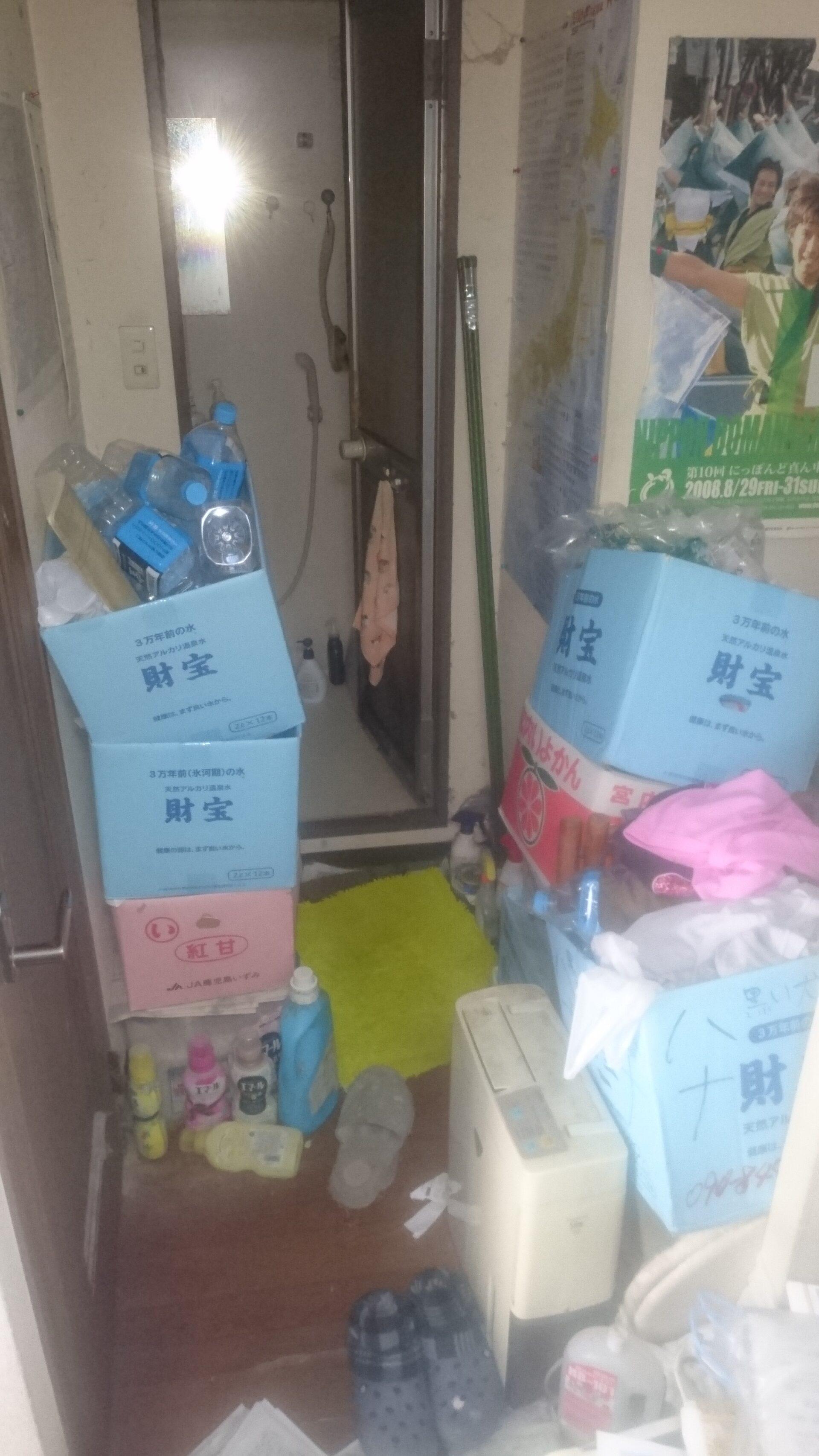 洗面所まわりの不用品の回収