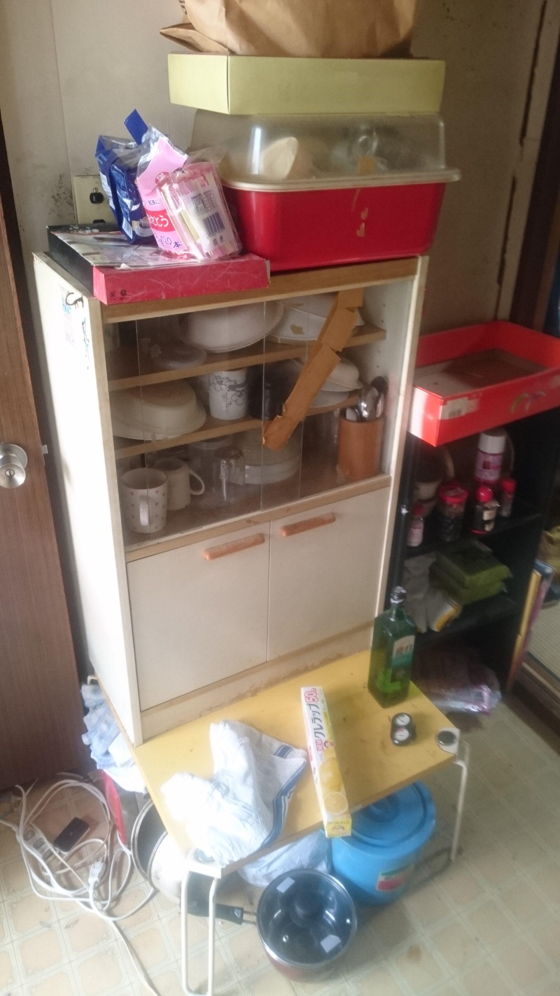 食器棚など調理用品の回収