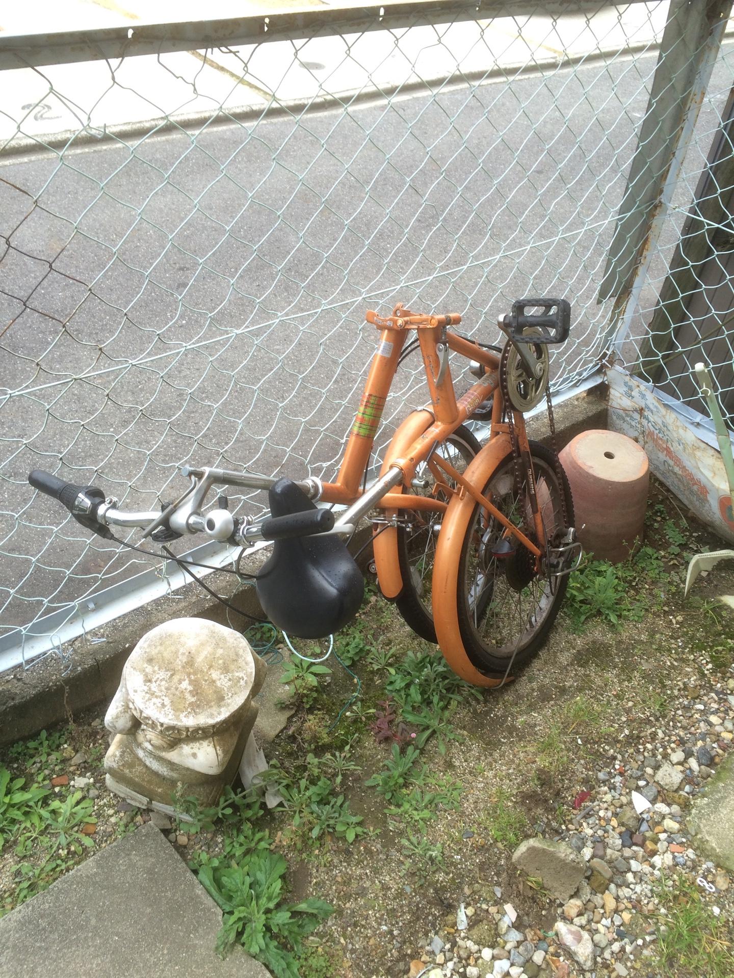 折りたたみ自転車の出張回収