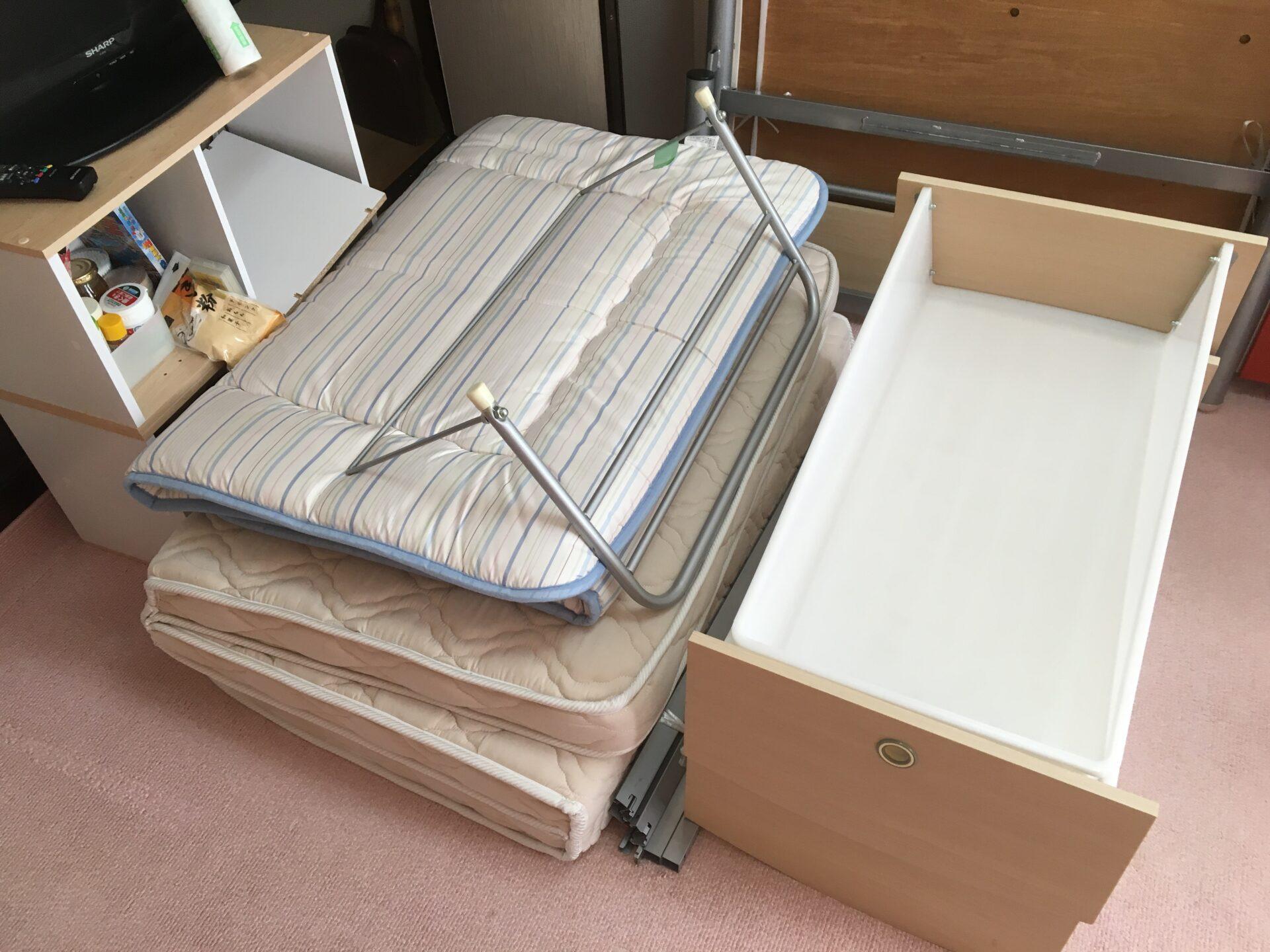 寝具一式の出張回収