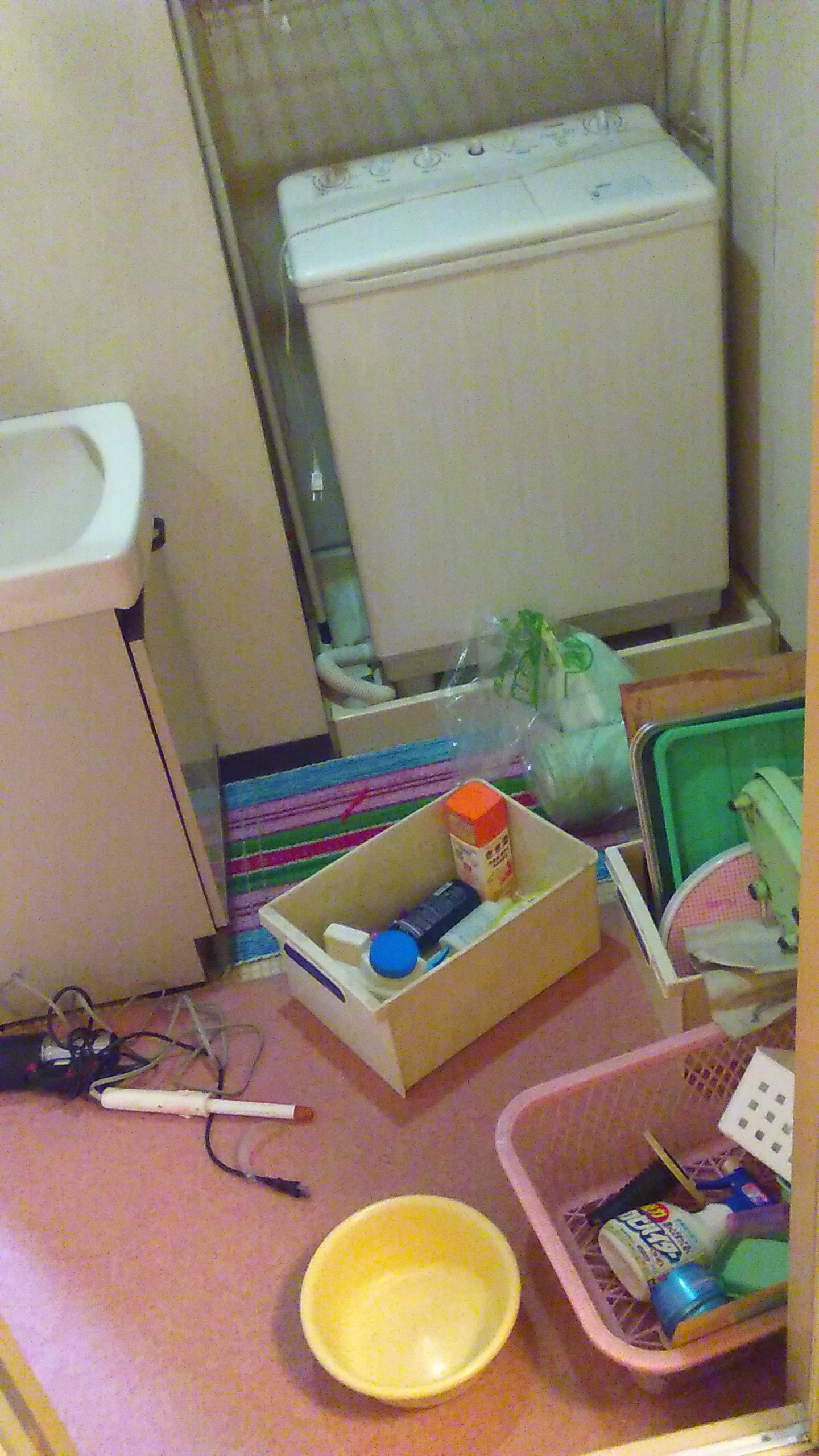 浴室周りの不用品回収