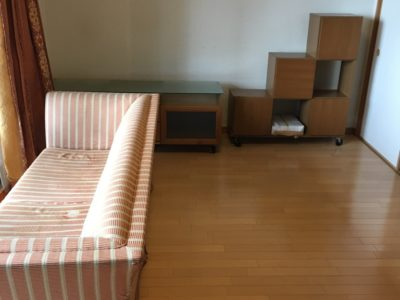 ソファやテレビボードなどの回収