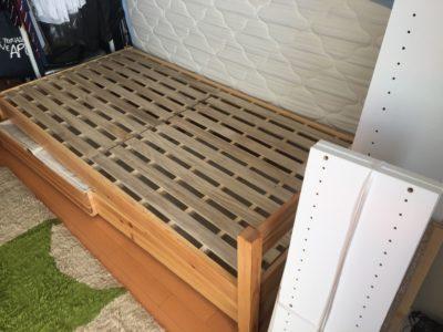 ベッド枠の出張回収