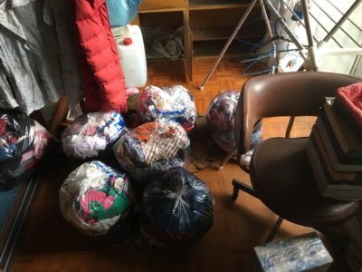 家屋解体に伴う不用品の回収