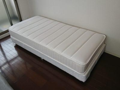 シングルベッドの出張回収