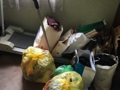 ランニングマシンや衣類などの出張回収