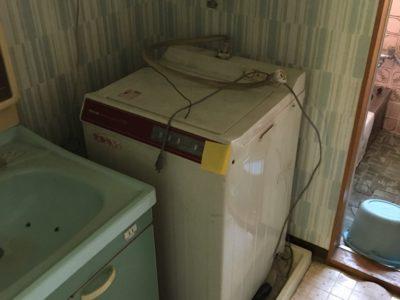 洗濯機の出張回収