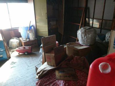 解体に伴い不用品の出張回収