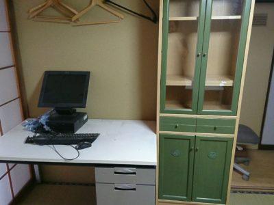PCや収納棚の出張回収