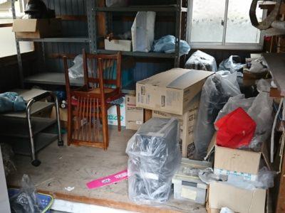 倉庫内の不要品の出張回収