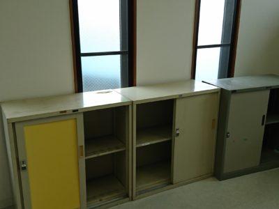 オフィス用収納棚の出張回収