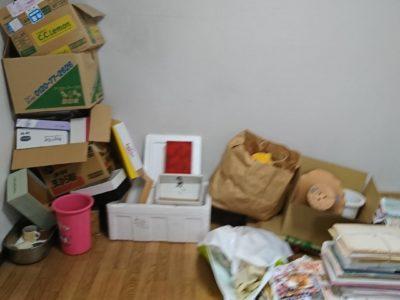 引っ越しに伴い段ボール類やチラシ類の出張回収