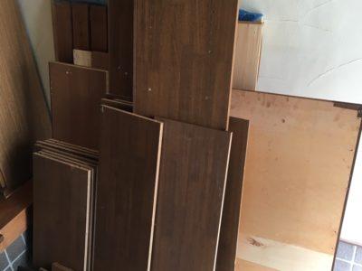 組み立て式書棚やカラーボックスの出張回収