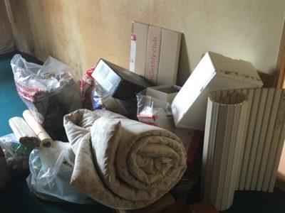 布団や生活雑貨などの出張回収