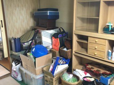 食器棚や小物類の不用品回収