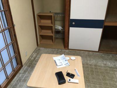 こたつテーブルやカーペットの出張回収