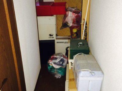 夏物衣類や夏物家電、クーラーボックスなどの回収