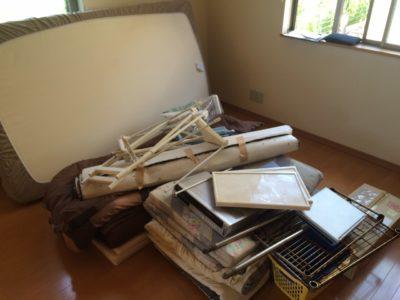 ベッドマットなどの不用品回収